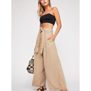 Free People Dwell On Dreams Trouser Pants Pleated